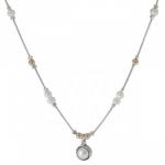Колье Deno из серебра с жемчугом 01N1956PL