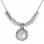Колье Deno из серебра с жемчугом 01N908PL