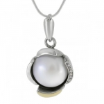 Колье Deno из серебра с жемчугом MVN1584GPL
