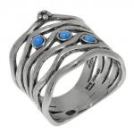 Кольцо Deno из серебра 01R1988OP