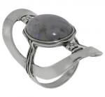 Кольцо Deno из серебра с лабрадором 01R931LB