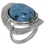 Кольцо Deno из серебра с бирюзой 01R1907TQ