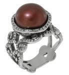 Кольцо Deno из серебра с жемчугом 01R1897PL