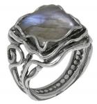 Кольцо Deno из серебра с лабрадором 01R1759LB
