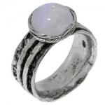 Кольцо Deno из серебра с лунным камнем 01R1761MS
