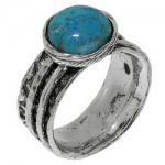 Кольцо Deno из серебра с бирюзой 01R1761TQ