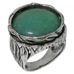 Кольцо Deno из серебра с авантюрином 01R1768AV