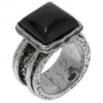 Кольцо Deno из серебра с ониксом 01R1782ON
