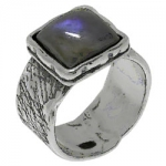Кольцо Deno из серебра слабрадором 01R1891LB