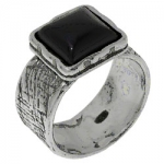 Кольцо Deno из серебра с ониксом 01R1891ON