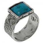 Кольцо Deno из серебра с бирюзой 01R1891TQ