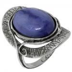 Кольцо Deno из серебра с кианитом 01R1907KT