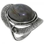 Кольцо Deno из серебра с лабрадором 01R1907LB