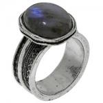 Кольцо Deno из серебра с лабрадором 01R1928LB
