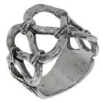 Кольцо Deno из серебра 01R2015
