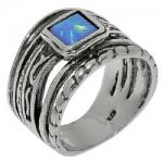 Кольцо Deno из серебра с опалом 01R723OP