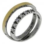 Кольцо Deno из серебра MVR1314GCZ