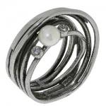 Кольцо Deno из серебра MVR1415PL