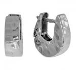 Серьги Deno из серебра MVE1198