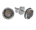 Серьги Deno из серебра с лабрадором 01E229LB
