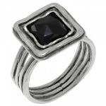Кольцо Deno из серебра с ониксом 01R755ON