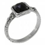 Кольцо Deno из серебра с ониксом 01R1341ON