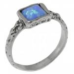 Кольцо Deno из серебра с опалом 01R1341OP