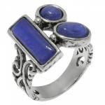 Кольцо Deno из серебра с кианитом 01R2453KT