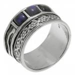 Кольцо Deno из серебра с лабрадором 01R479LB