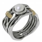 Кольцо Deno из серебра с жемчугом MVR1450GPL