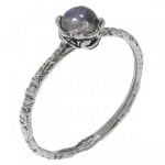 Кольцо Deno из серебра с лабрадором MVR1569LB