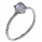 Кольцо Deno из серебра с лунным камнем MVR1569MS