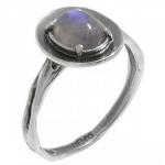 Кольцо Deno из серебра с лабрадором MVR1570LB