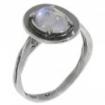 Кольцо Deno из серебра с лунным камнем MVR1570MS