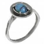 Кольцо Deno из серебра с бирюзой MVR1570TQ