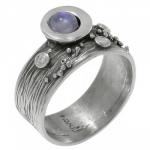 Кольцо Deno из серебра с лунным камнем MVR1520MS
