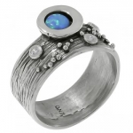Кольцо Deno из серебра с опалом MVR1520OP