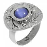 Кольцо Deno из серебра с кианитом MVR1532KT