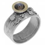 Кольцо Deno из серебра с лабрадором MVR1520GLB