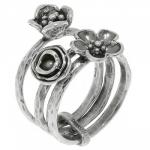 Кольцо Deno из серебра с MVR1527