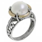 Кольцо Deno из серебра с жемчугом MVR1505GPL