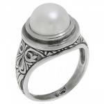 Кольцо Deno из серебра с жемчугом MVR1504PL