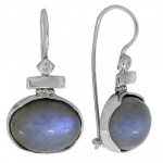 Серьги Deno из серебра с лабрадором MVE1534LB
