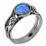Кольцо Deno из серебра  01R902OP