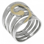 Кольцо Deno из серебра MVR1373G