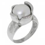Кольцо Deno из серебра с жемчугом MVR1584PL