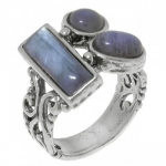 Кольцо Deno из серебра с лабрадором 01R2453LB