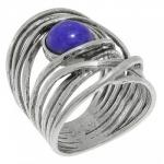 Кольцо Deno из серебра с лазуритом 01R896LZ