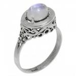 Кольцо Deno из серебра с лунным камнем MVR1575MS