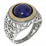 Кольцо Deno из серебра с лазуритом MVR1336GLZ